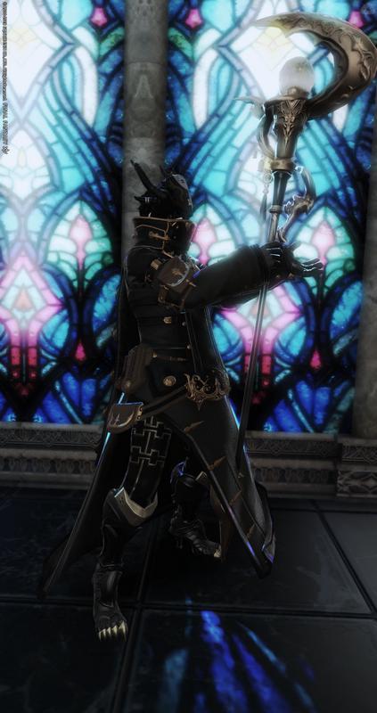 怪しい黒魔道士