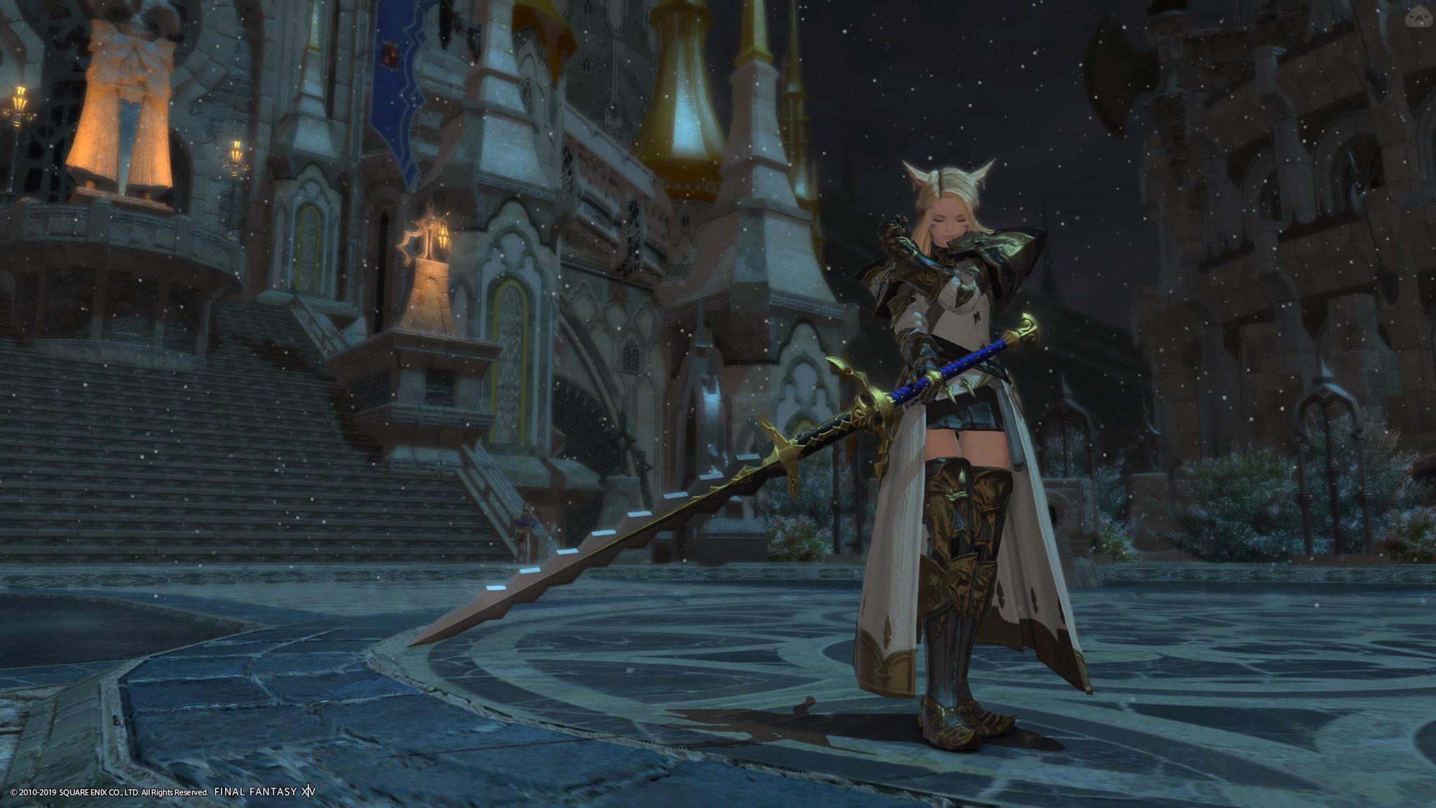 イシュガルドの白騎士