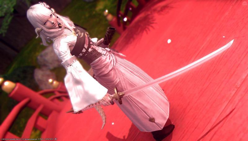 乙女桜と華の太刀
