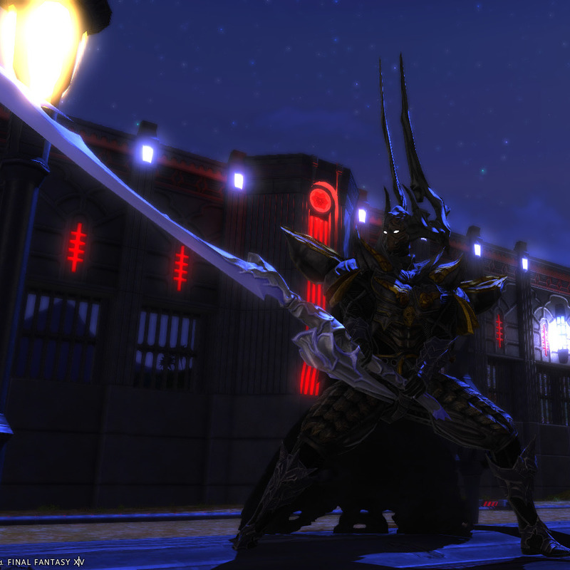 我が名は魔……暗黒騎士