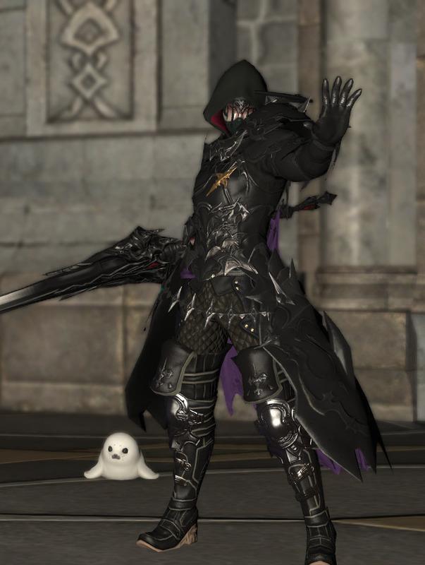 無貌の暗黒騎士