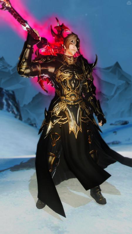 黄金の暗黒騎士