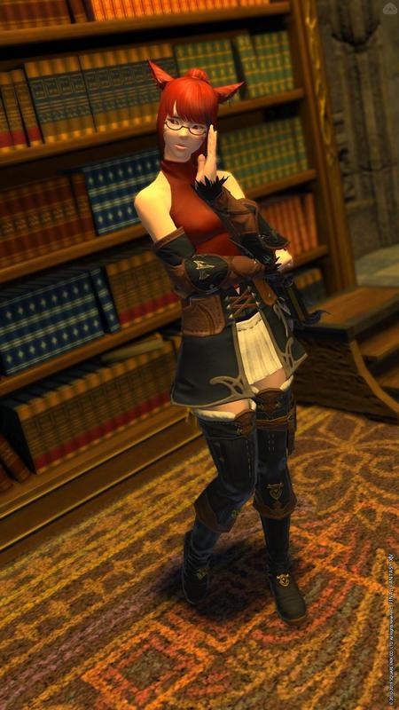図書館の召喚士ちゃん