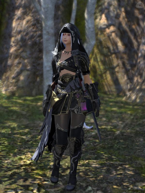 黒装束の忍者