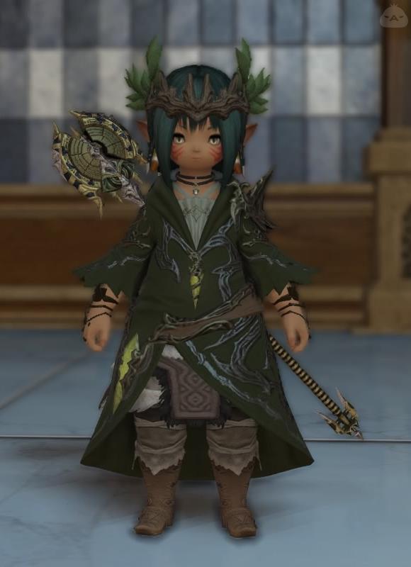 森林の守護者風(白魔)