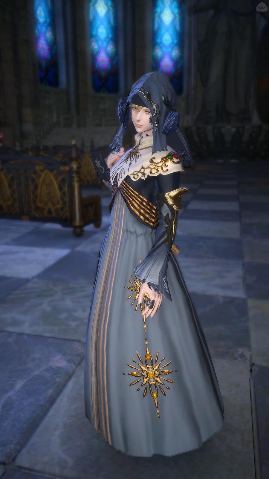 大聖堂のシスター