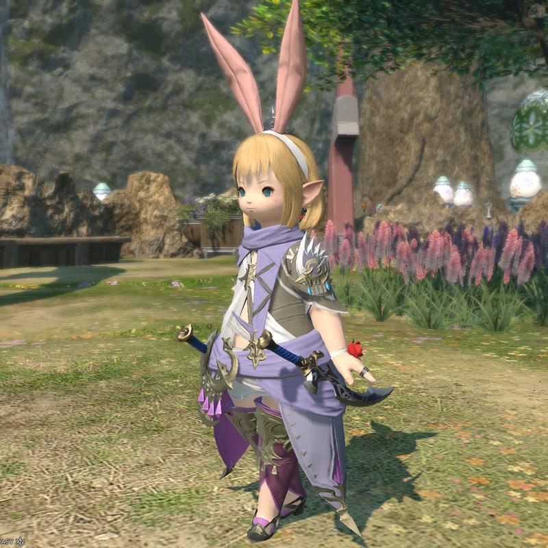忍者の春服コーデ