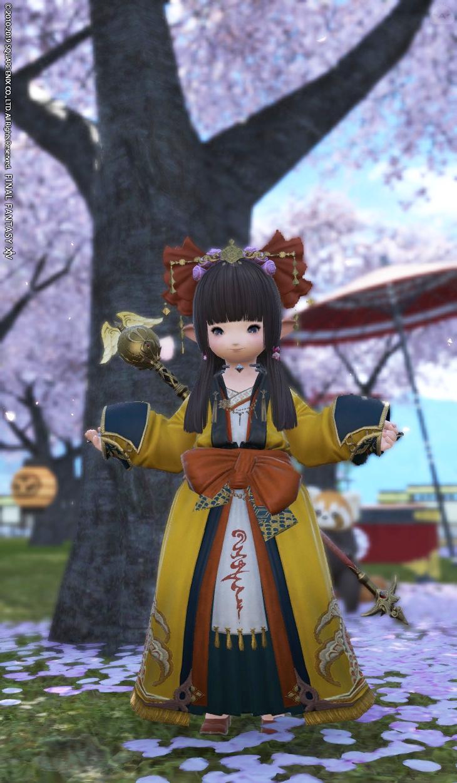 東方の姫チャン風