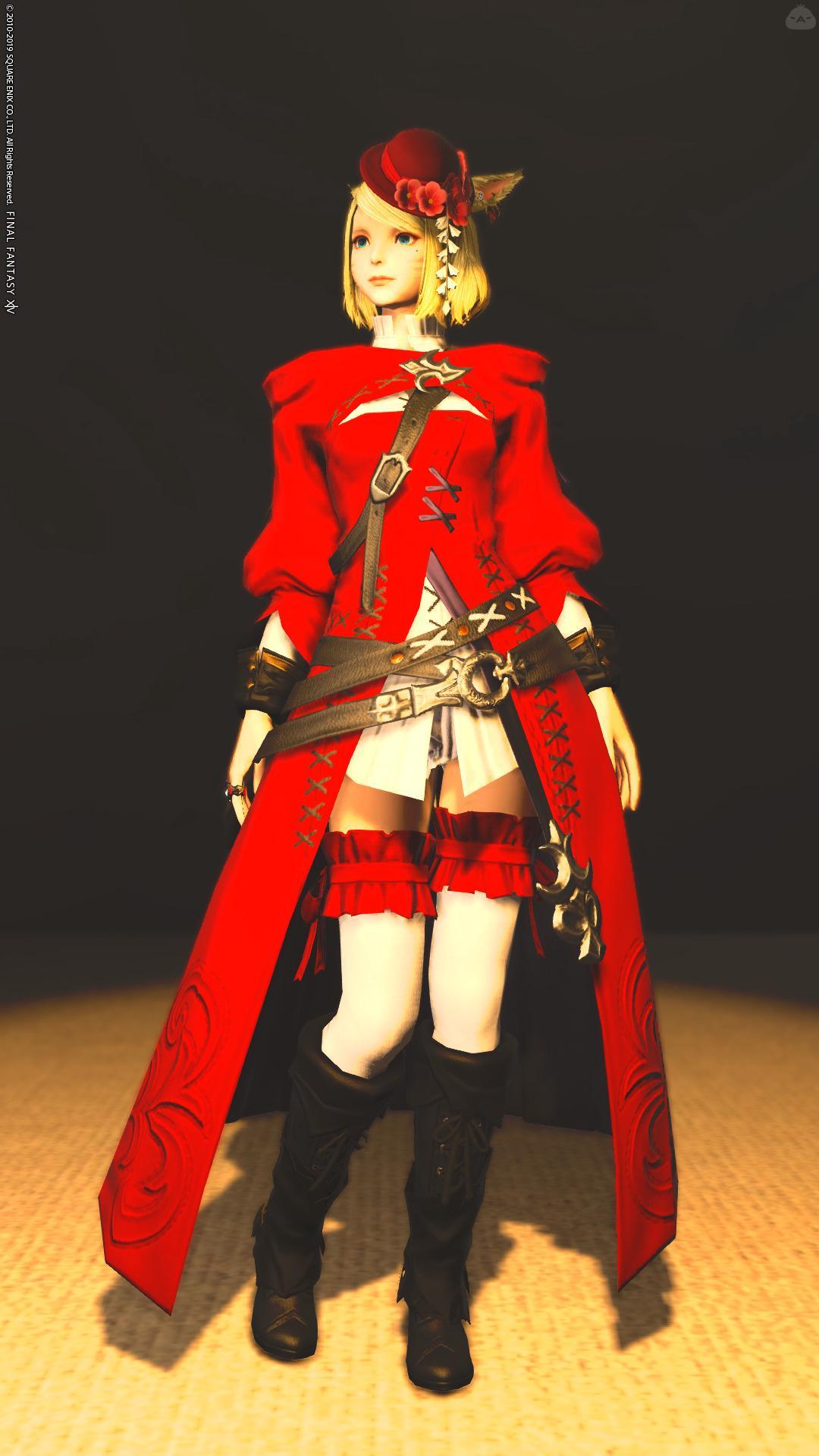 赤と白な魔導士