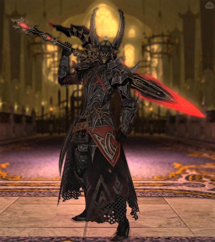 寡黙な暗黒騎士