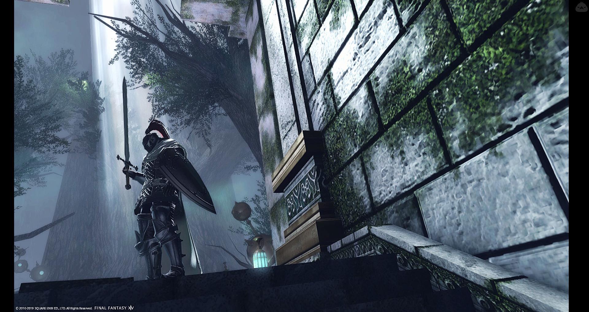 白く輝く剣、黒く染まる盾