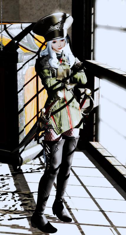 軍服フェチ。