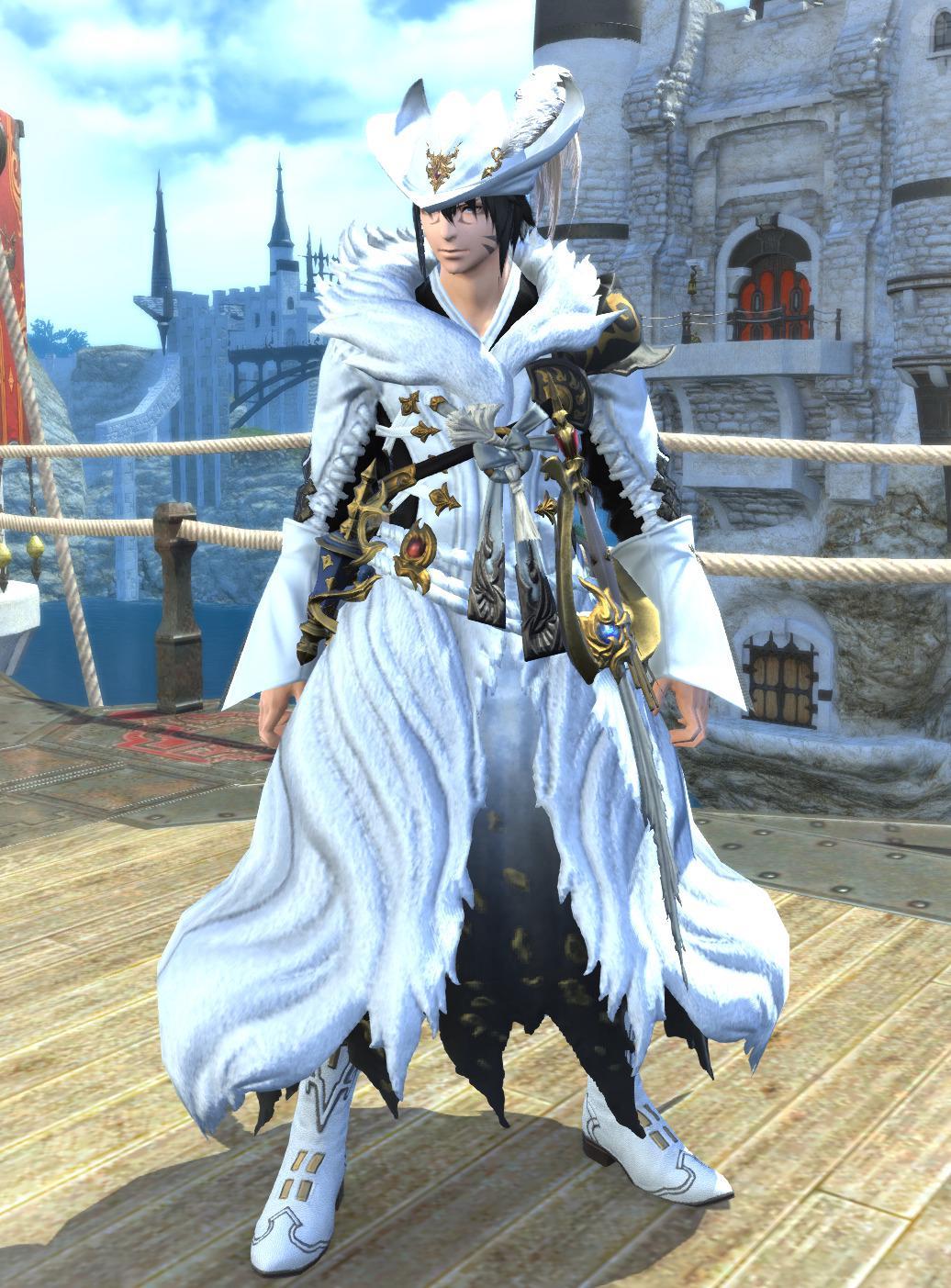 白狐の赤魔道士