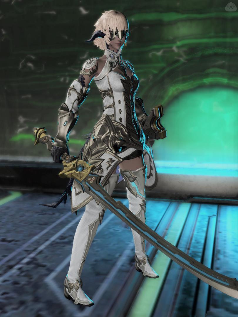 SF系白姫サムライ