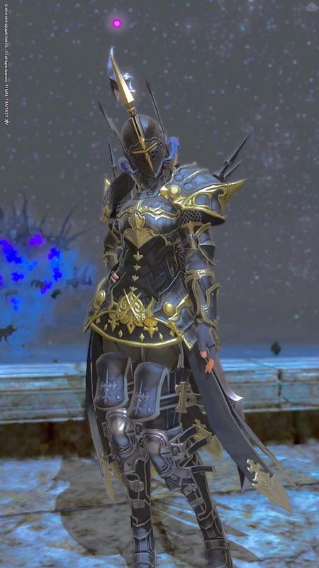 ダークナイトらしい暗黒騎士