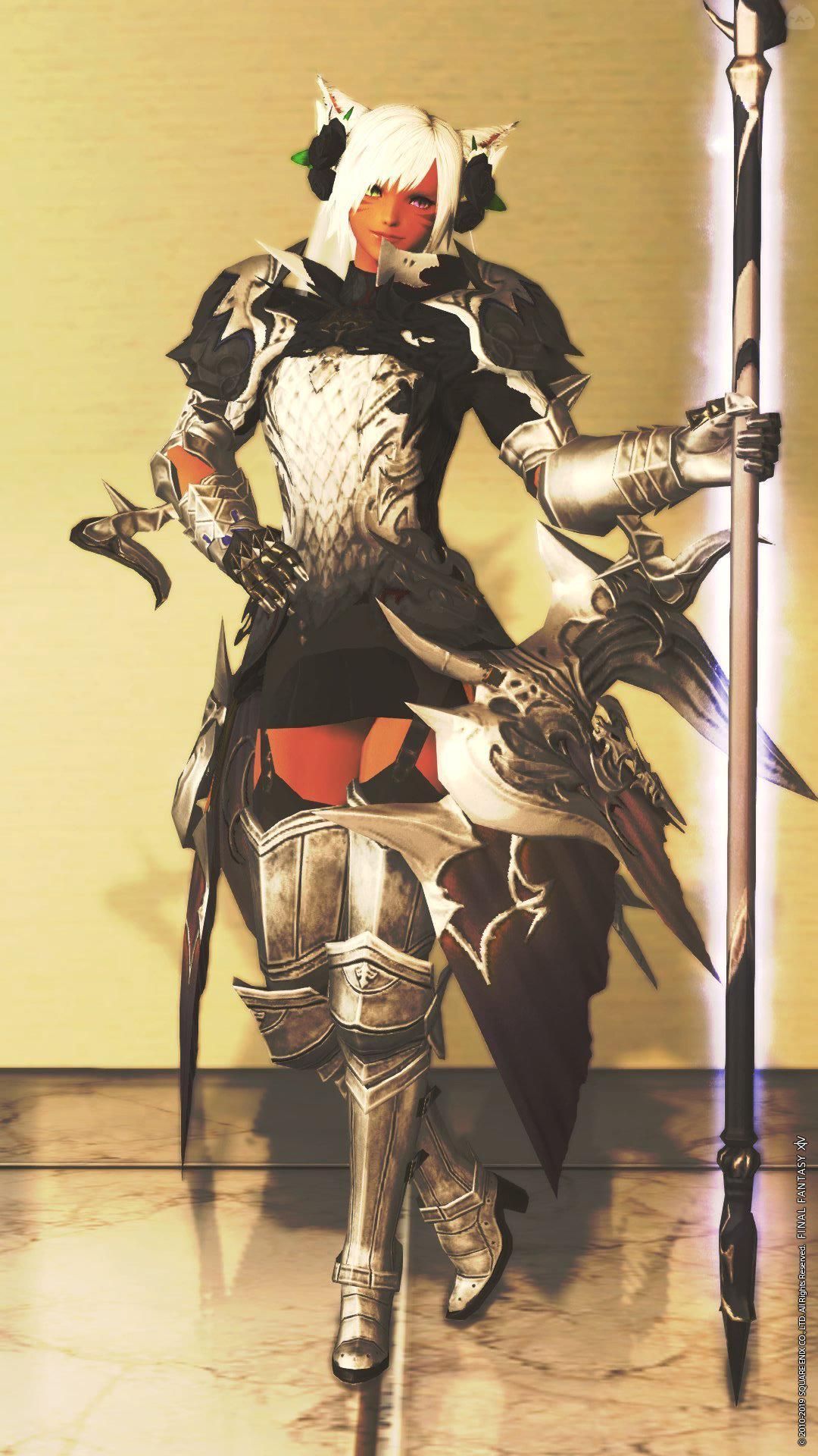 純白の竜騎士