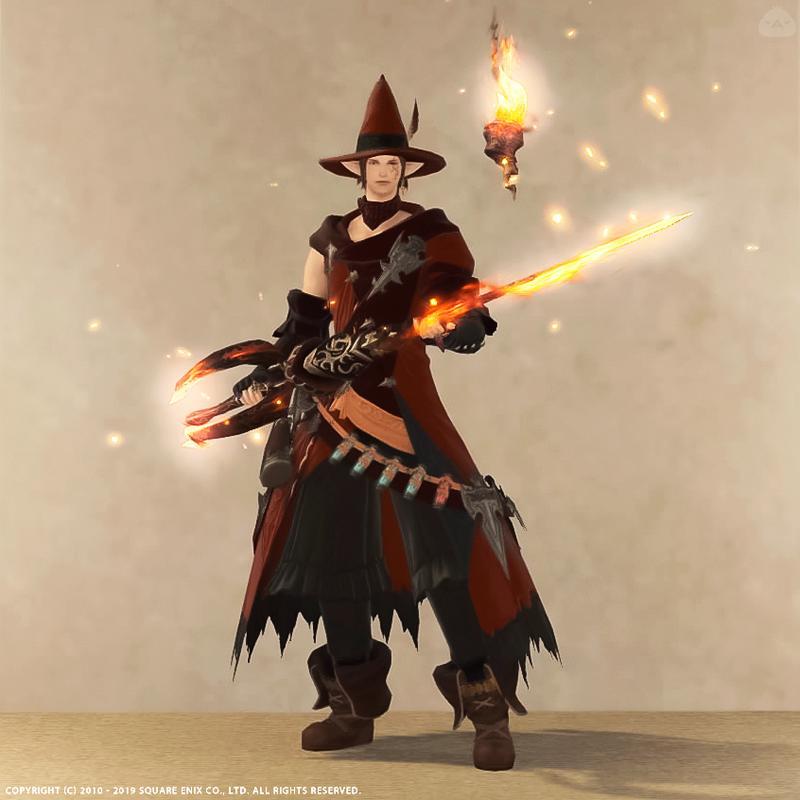 森の赤魔道士