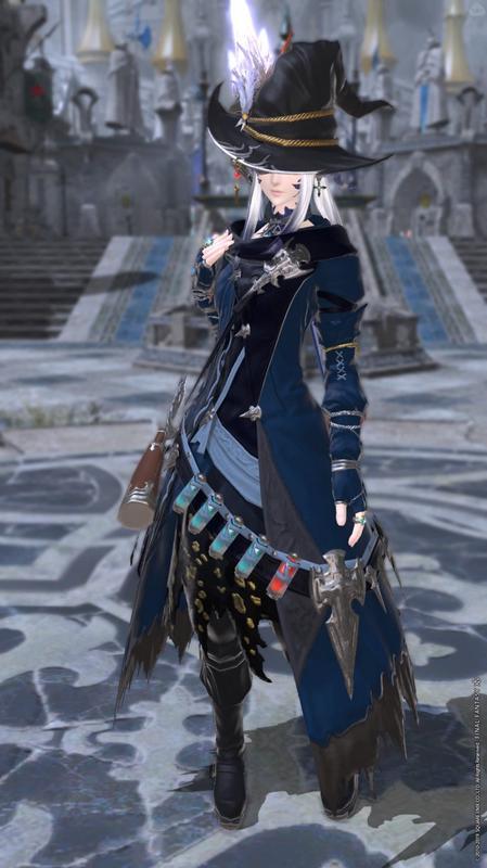 青の魔道士