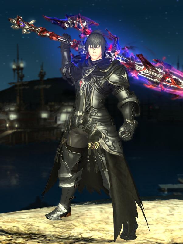 漆黒のヴィランズ風暗黒騎士