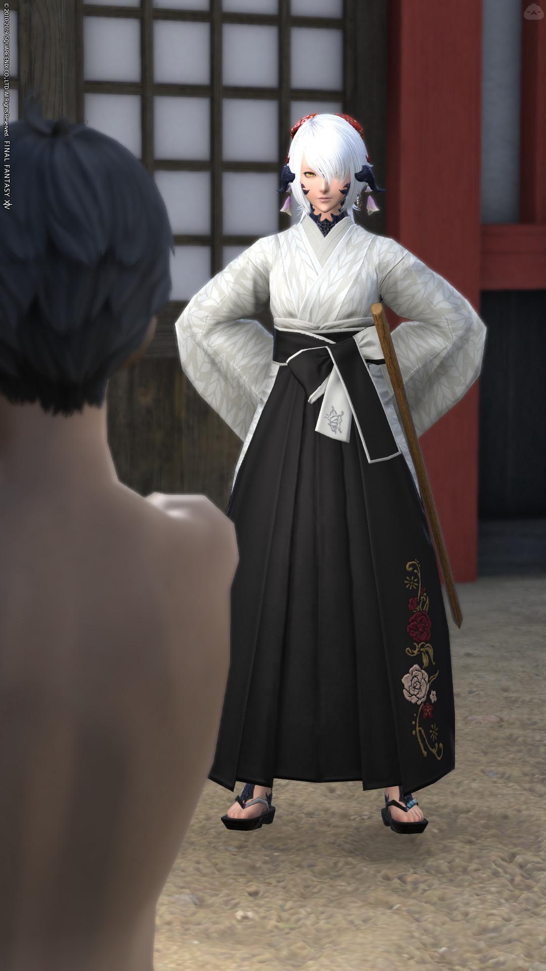 剣術道場の師範代