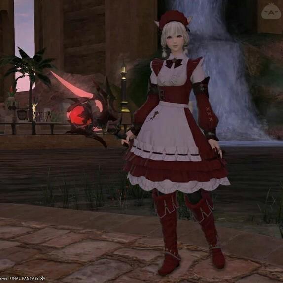 赤メイドさん
