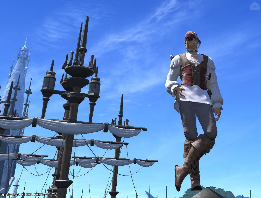 海賊の剣術士