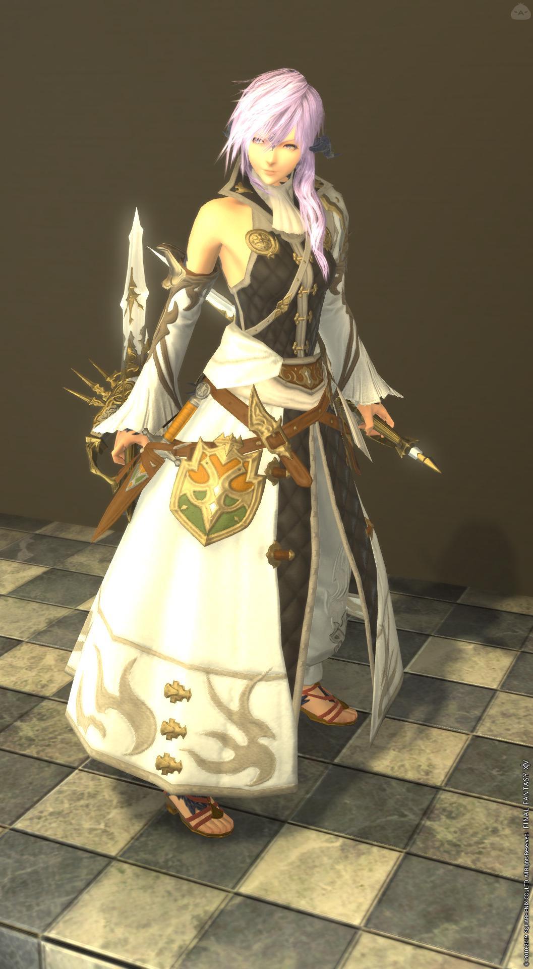 白の双剣騎士