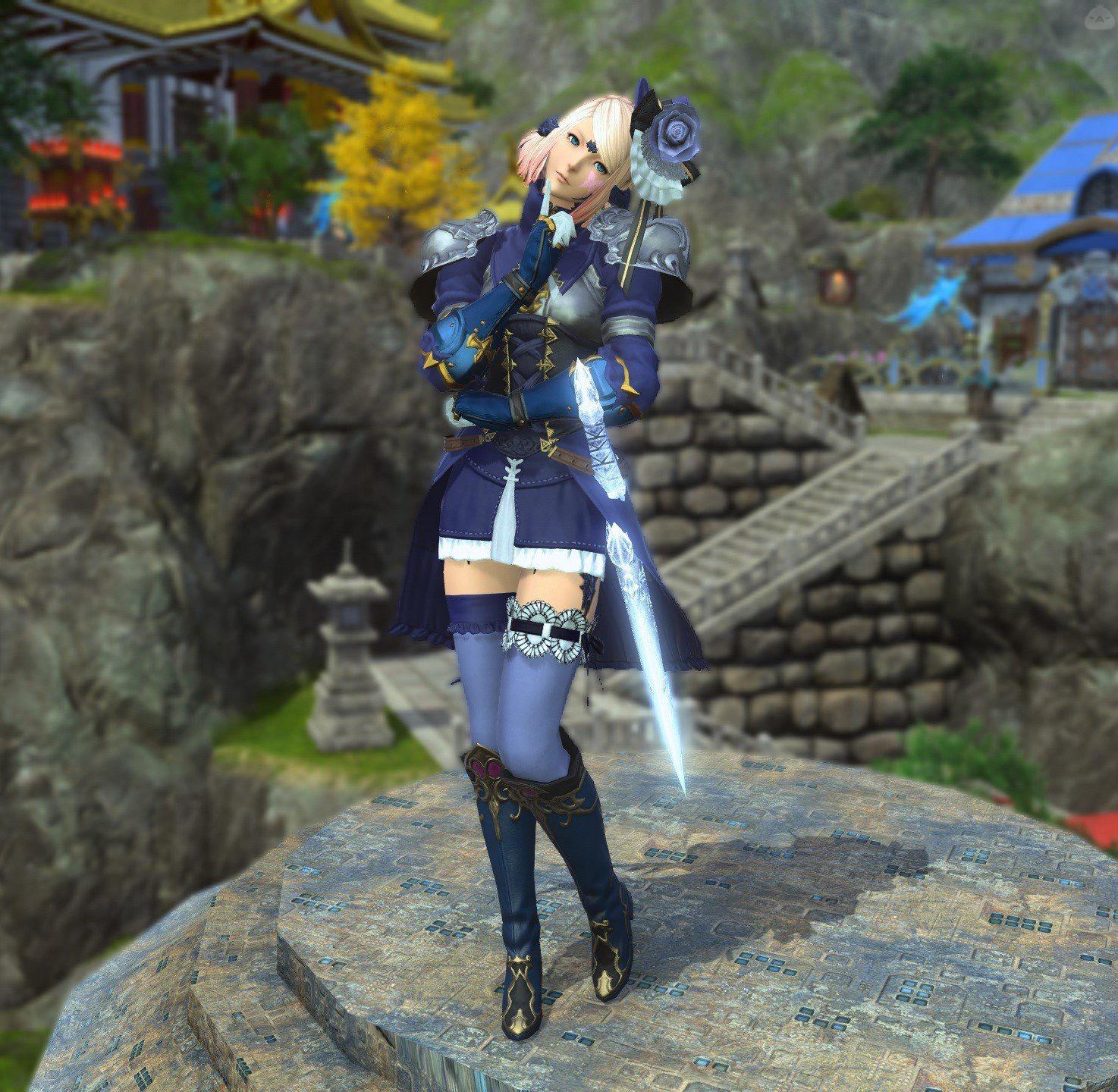 青の姫騎士ナイト