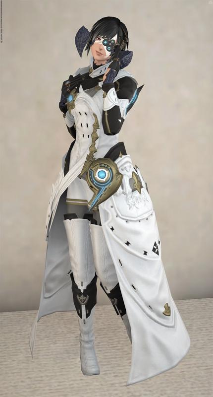 アラグ帝国の白衣