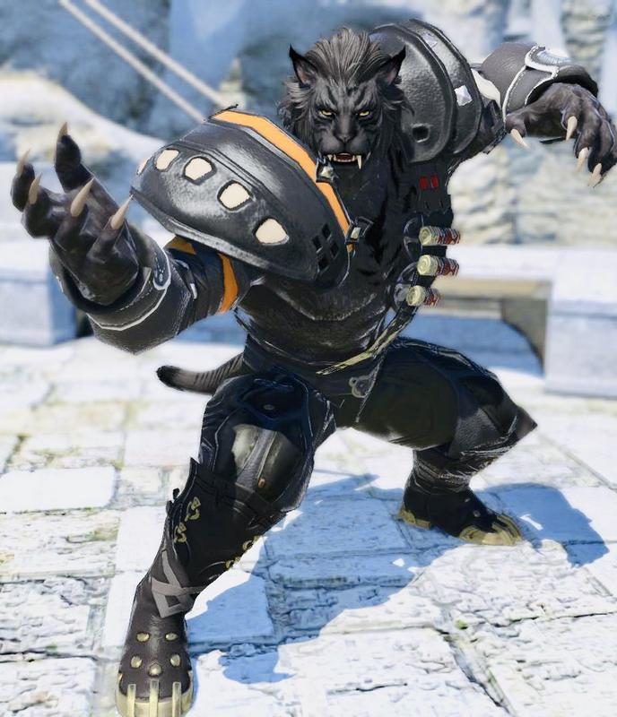 ロスガルの獣戦士