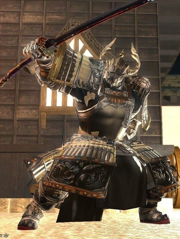 漆黒の武士