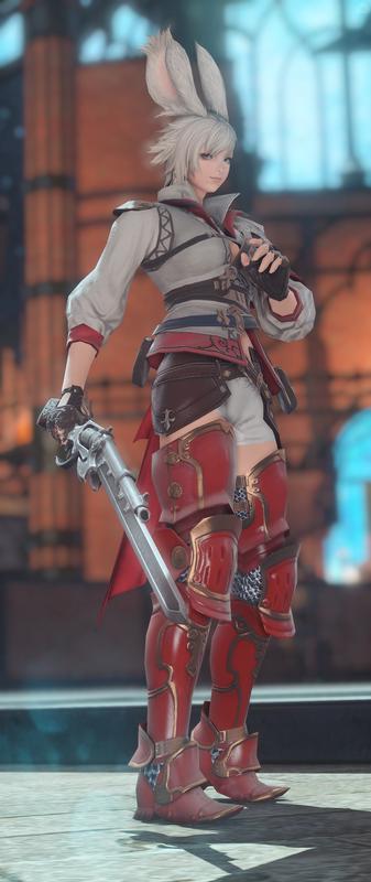 紅蓮の銃剣士