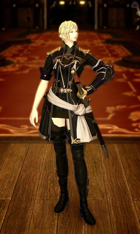 帝国軍服をちょっと可愛く