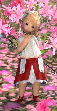 白魔のスカート