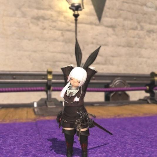 黒兎ララフェル