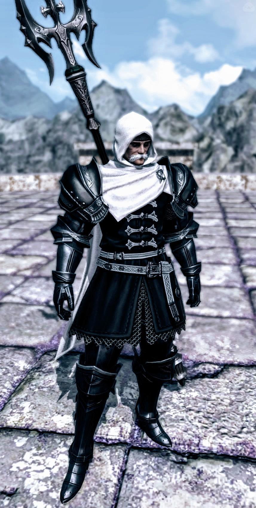 亡国の老騎士