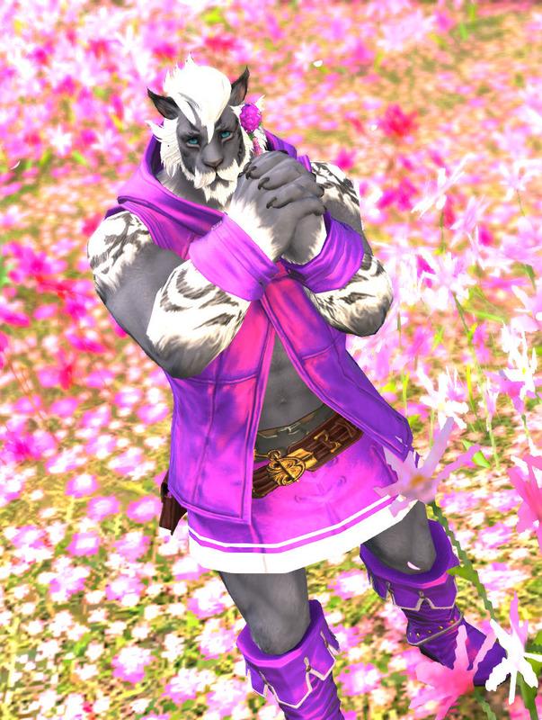お花とロスガル