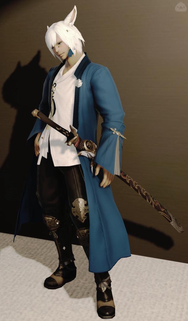 羽織の剣士