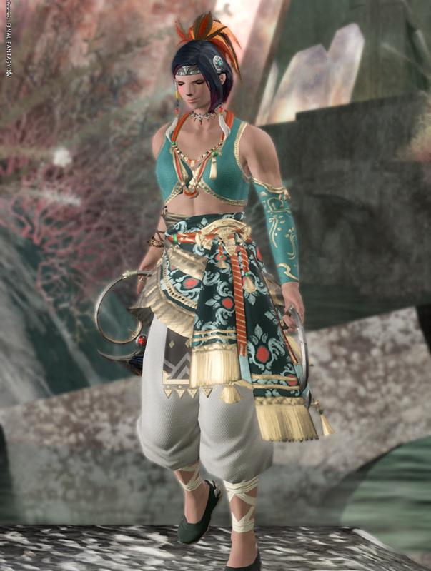 翡翠の踊り子