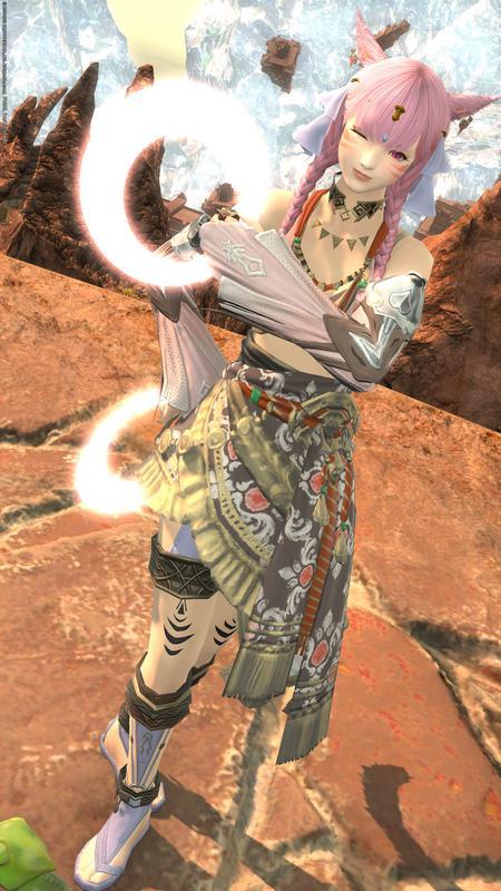 踊り子(姫)らしいミラプリ