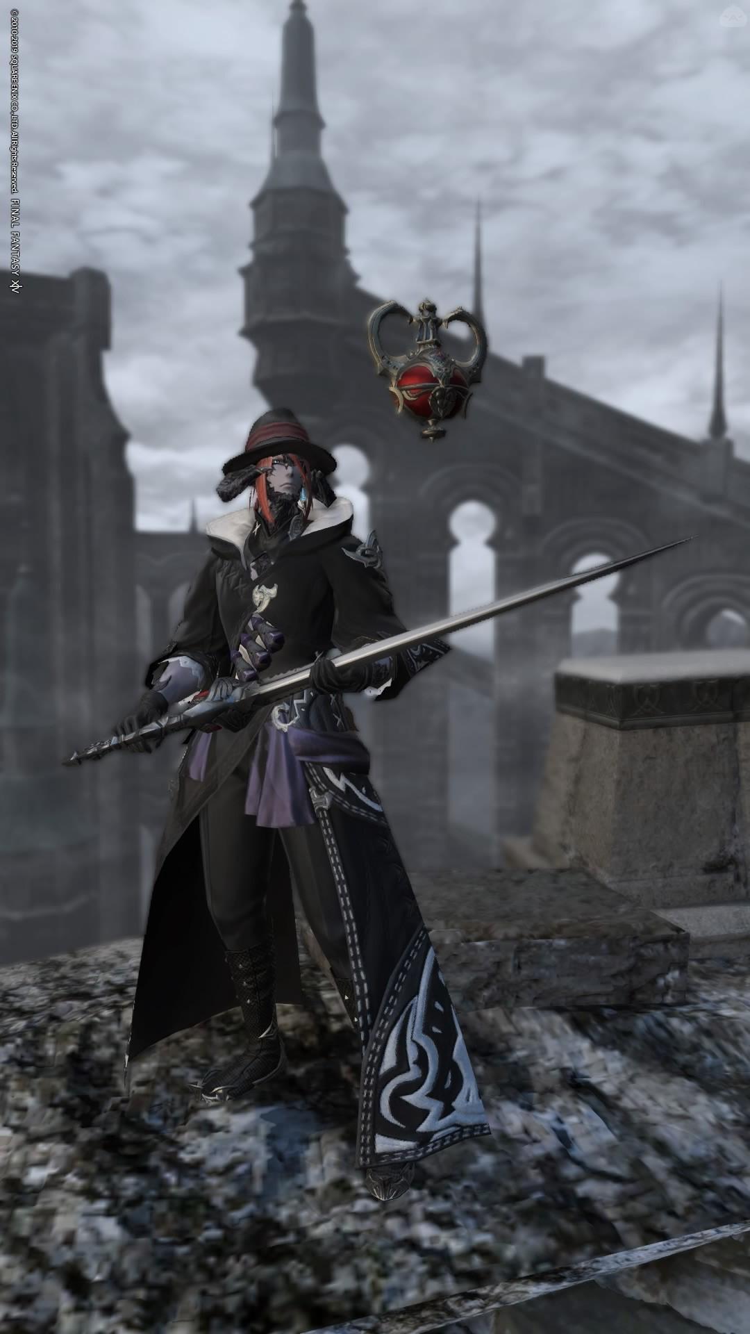漆黒の赤魔道師