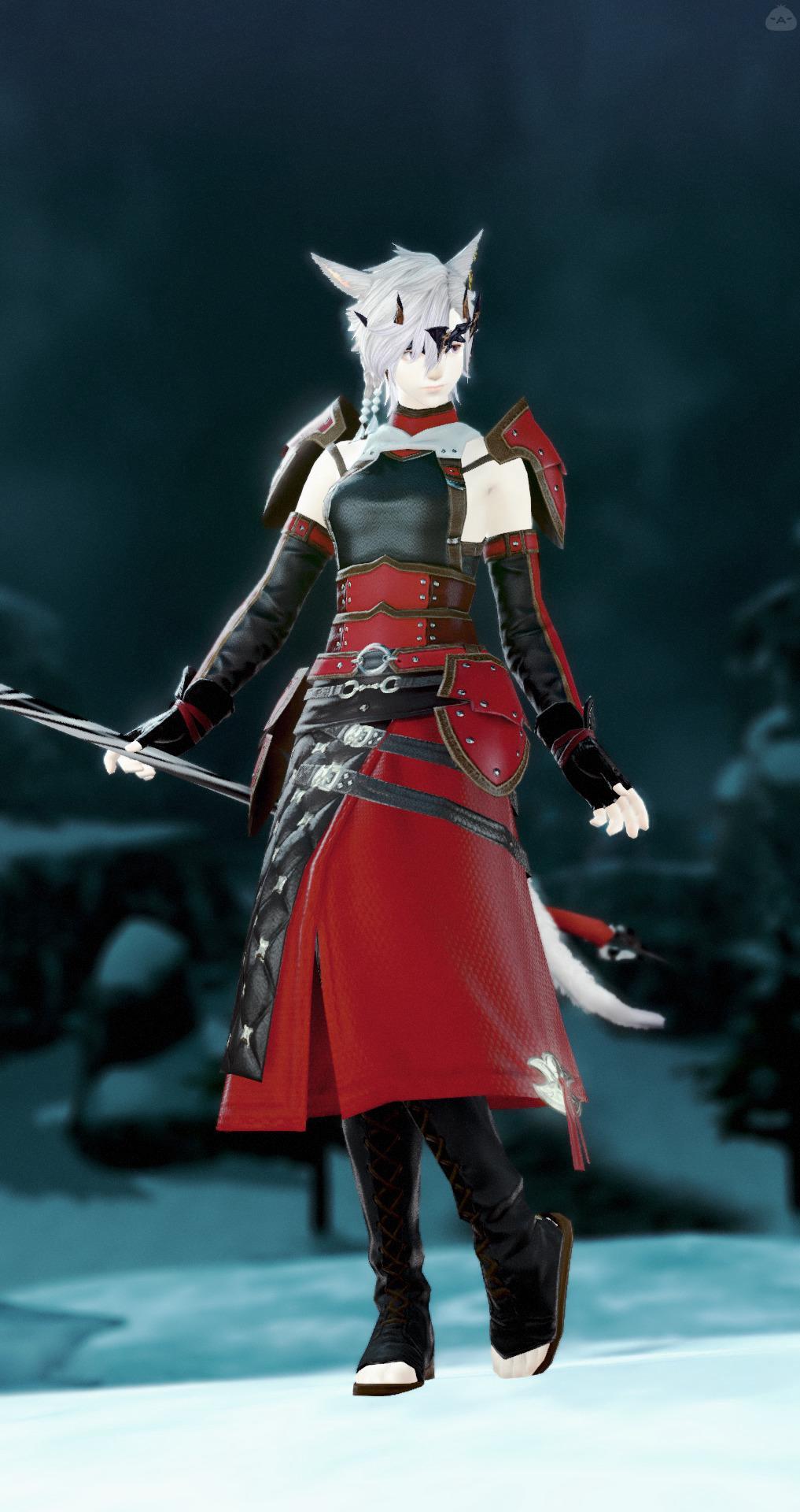 赤い黒魔道士