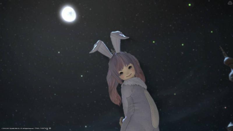 月のうさぎさん