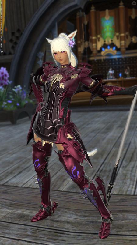 紅紫の竜騎士