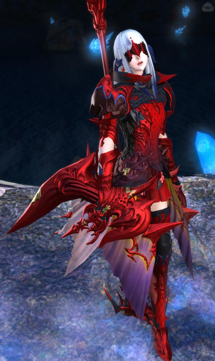 赤い竜星のヒカセン