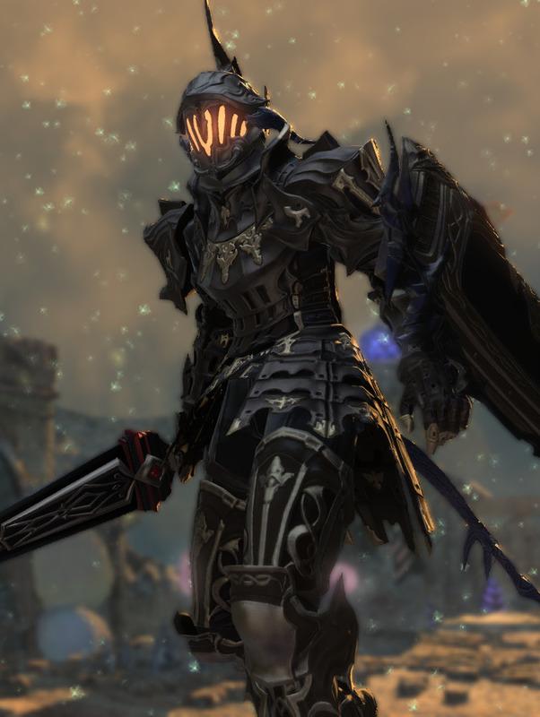 廃都の亡霊騎士