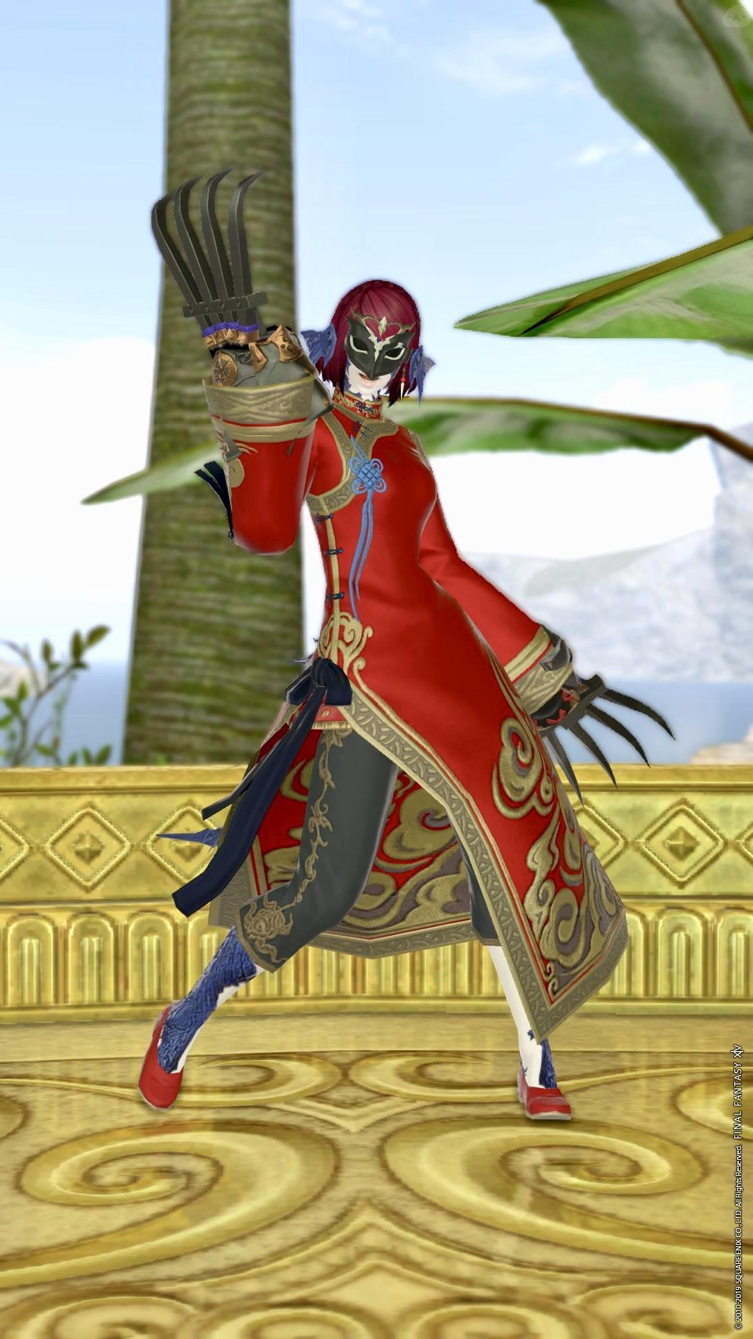 謎の仮面武道家
