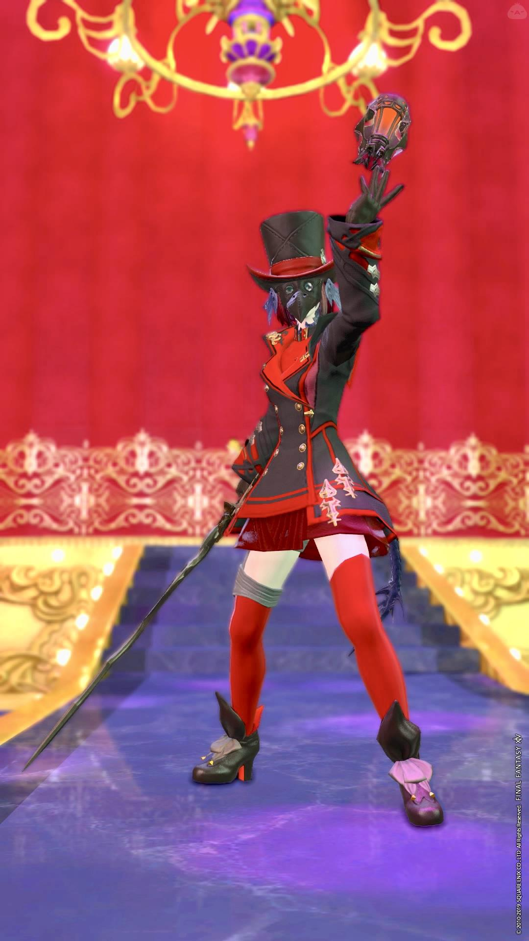 crazy Red mage