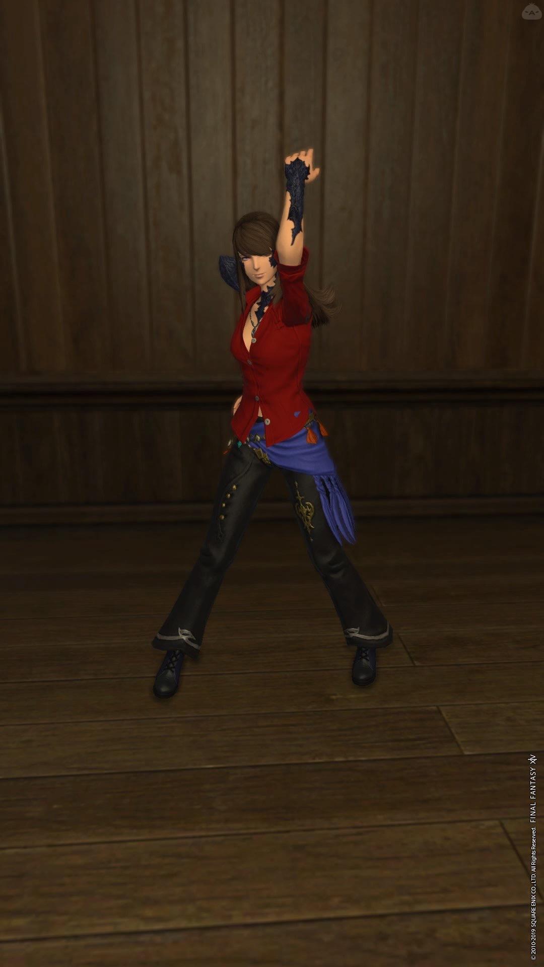 FF5 バッツ踊り子風