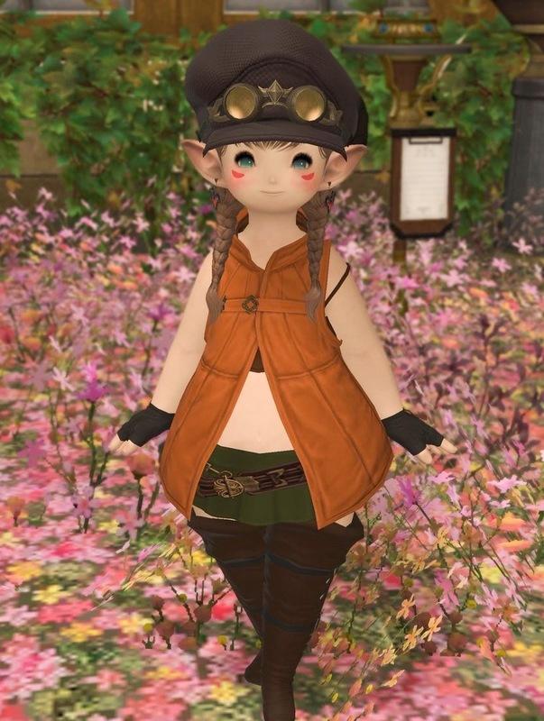 秋色ボーイッシュコーデ